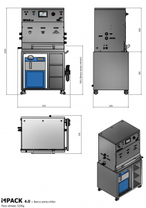 IMPACK4.0 + Banco porta-chiller